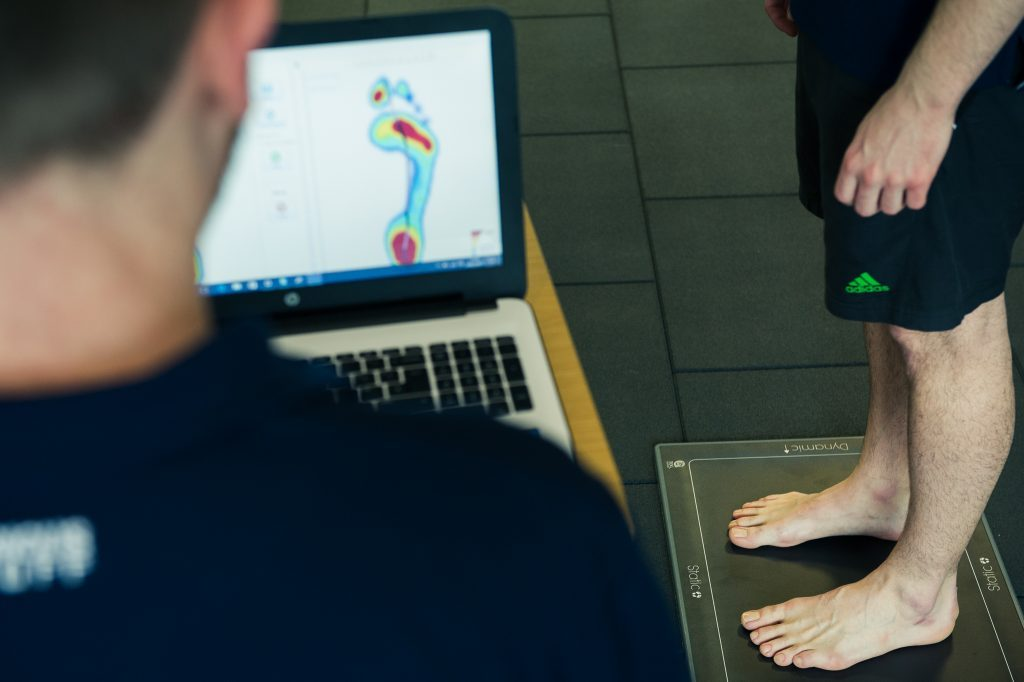 orthotics london gaitscan